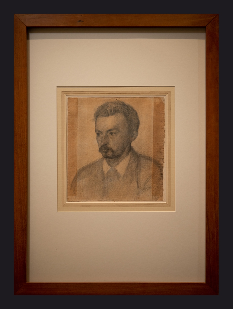 26 1895, Self Portrait by Leslie Hossack