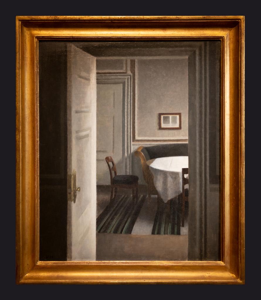 28 1904, Intérieur, Strandgade 30 by Leslie Hossack