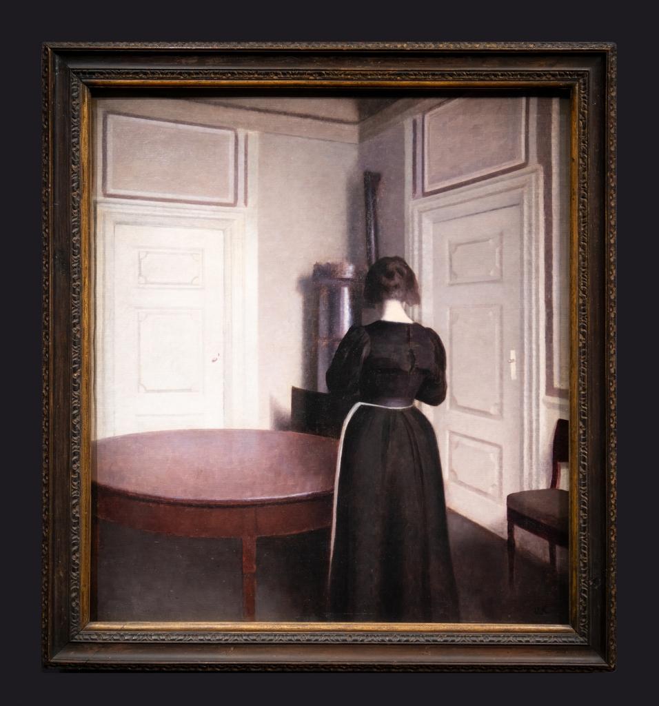 29 1899, Intérieur, Coin de salle a manger, Strandgade 30 by Leslie Hossack