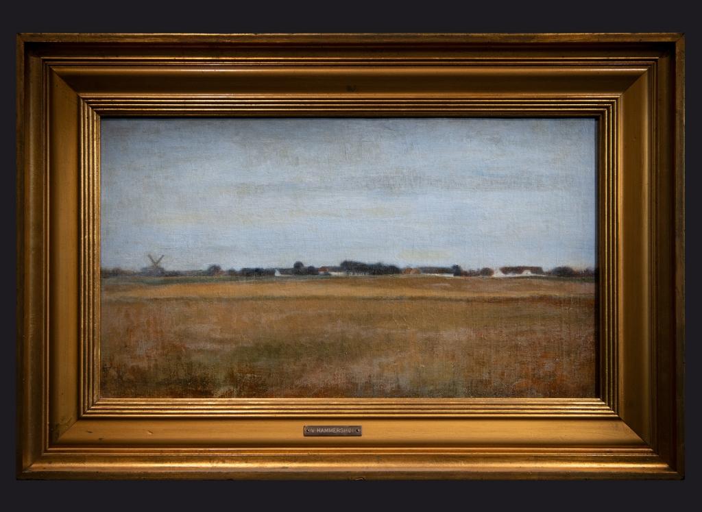32 1888 Paysage de Virum près de Frederiksdal, été by Leslie Hossack
