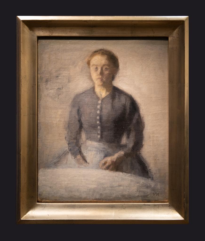 33 1892, Portrait of Ida, Portrait d'Ida by Leslie Hossack