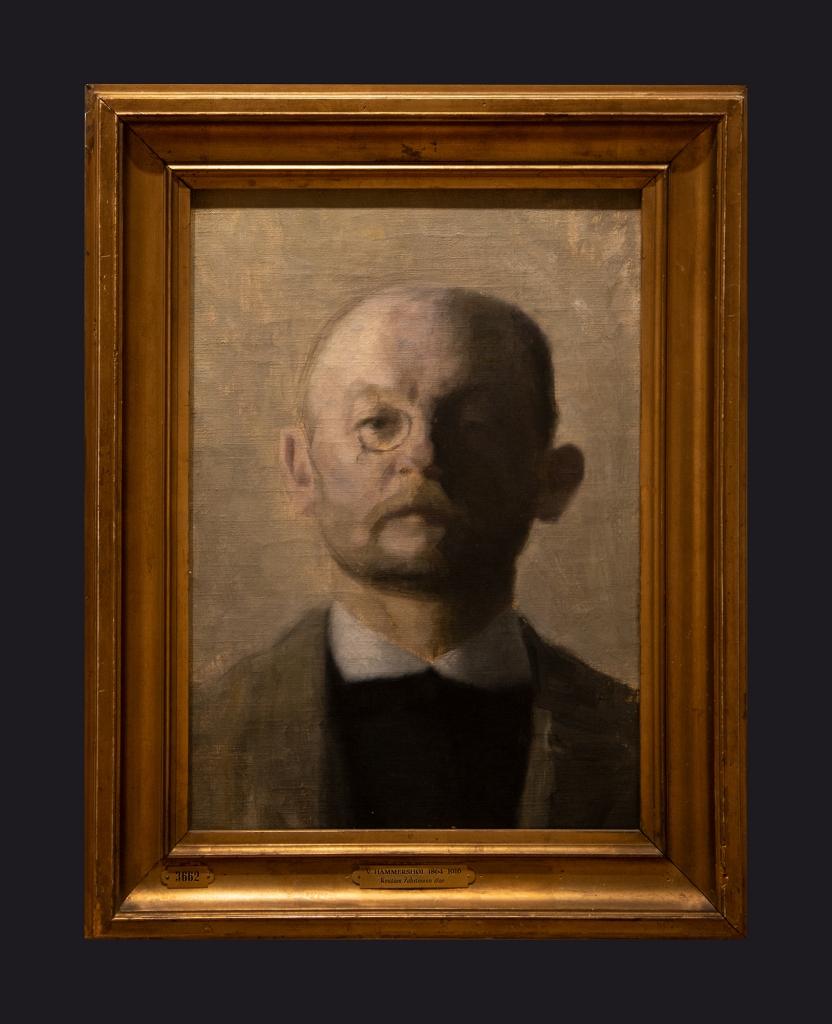 65 1889-1900, The Painter Kristian Zahrtmann by Leslie Hossack