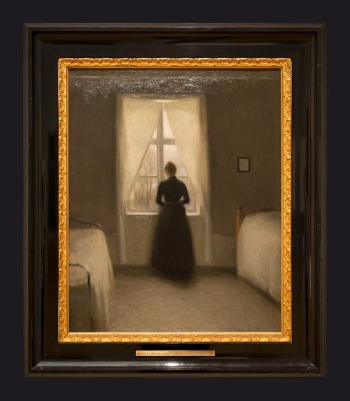 66 1890, Bedroom by Leslie Hossack