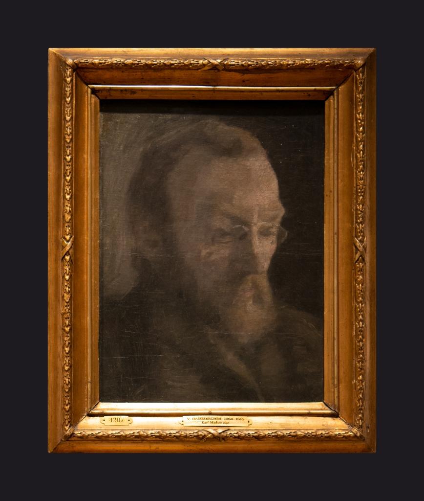 67 1890 The Art Historian Karl Madsen, Later Director of Statens Museum for Kunst by Leslie Hossack