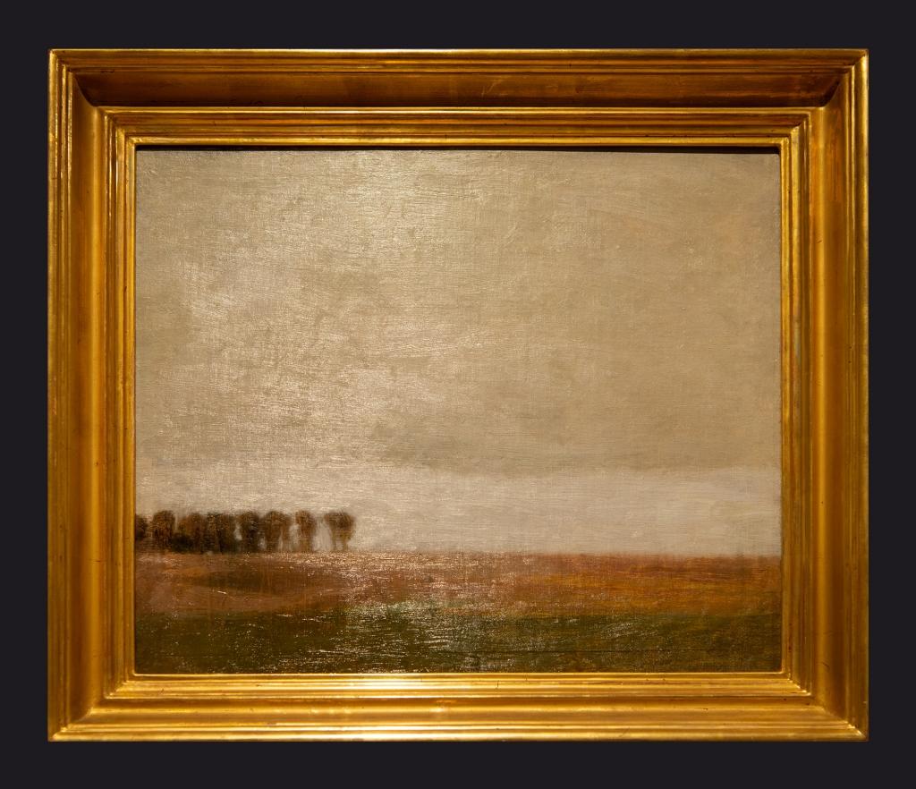 70 1892, View of Jaegersborg Alle, Gentofte by Leslie Hossack