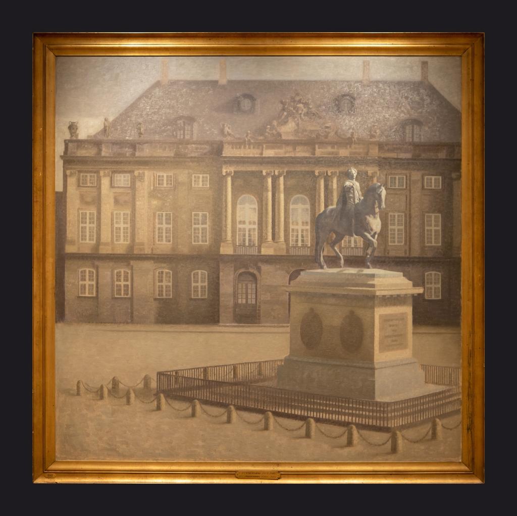 72 1896 Amalienborg Square, Copenhagen by Leslie Hossack