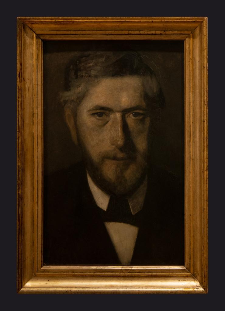 75 1901, The Artist Jens Ferdinand Willumsen. Study for Five Portraits by Leslie Hossack