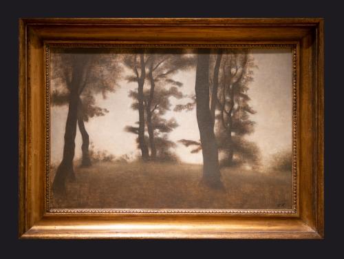 82 1904, Tree Trunks, Arresodal Frederiksvaerk by Leslie Hossack