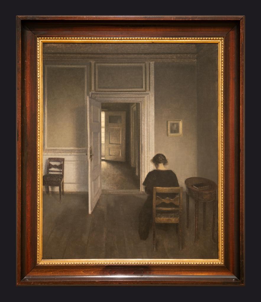 84 1906-1908 Interior No. 30 Strandgade by Leslie Hossack