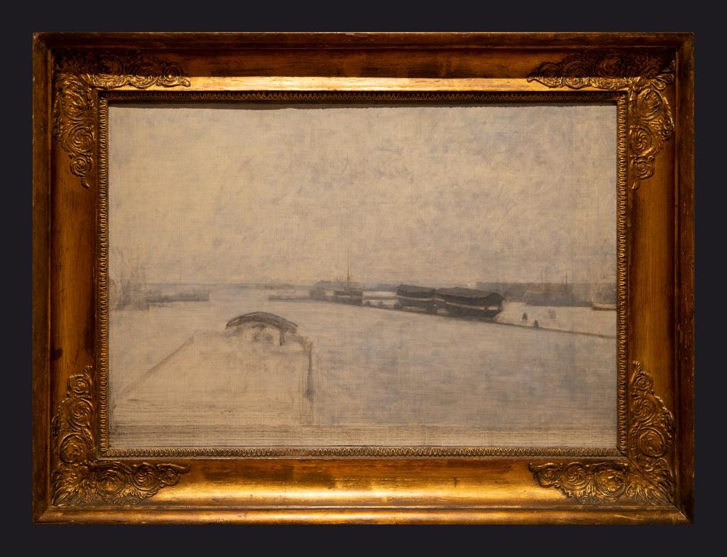 88 1908, The Harbour of Copenhagen Seen from Kvaesthusgade by Leslie Hossack