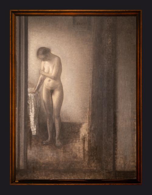 89 1909-1910, Female Model by Leslie Hossack